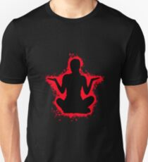 Silhouette young red and black silhouette Unisex T-Shirt