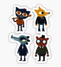 Night in the Woods stickers Sticker