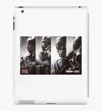 Rainbow Six: Seige Operators iPad Case/Skin