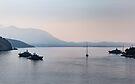 Dubnovnik Harbour by Sara Sadler