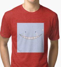 Koro Sensei Sad Tri-blend T-Shirt