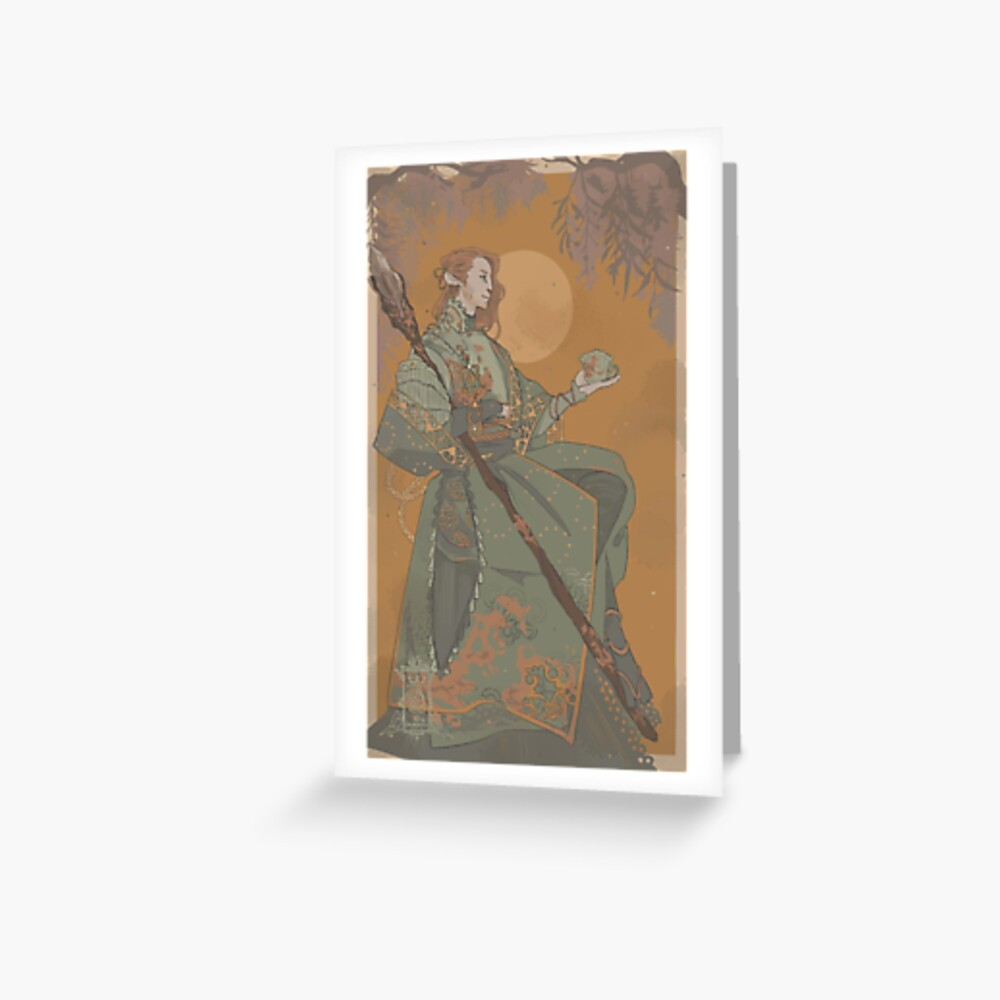 Caduceus 01 Grußkarte