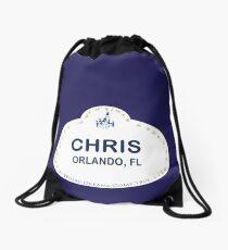 Chris From Orlando Drawstring Bag