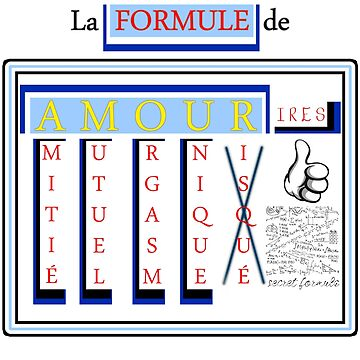 The FORMULA of LOVE (TEXT FR) (FUN) by SmilerZOfficial