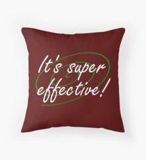 It's Super Effective! Throw Pillow