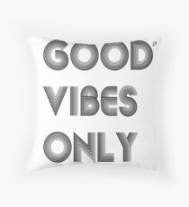 Good Vibes Only Floor Pillow