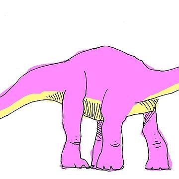 apatosaurus  by mmawson