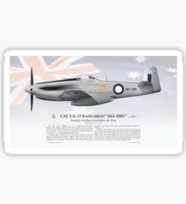 "CAC CA-15 Kangaroo ""A62-1001"" - Royal Australian Air Force Sticker"
