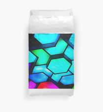 Abstract Graphic Pattern Duvet Cover