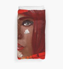 A digital painting for the movie fifth element  Duvet Cover