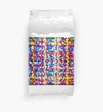 Abstract Lights Pattern Duvet Cover