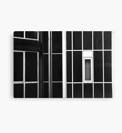 Window and lines Canvas Print