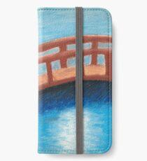 A bridge over a river iPhone Wallet/Case/Skin