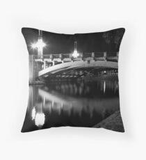 King William Street Bridge Throw Pillow