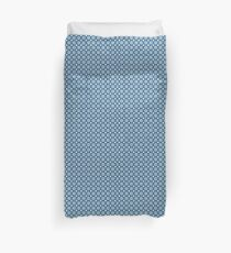Abstract Blue Graphic Pattern Duvet Cover