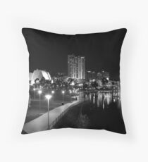 The River Torrens Throw Pillow
