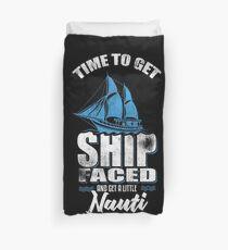 Zeit, Schiff zu erhalten Bettbezug