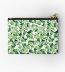 Green leaf Pattern 3 Studio Pouch