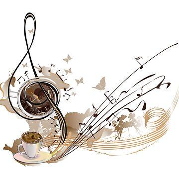 music notes by mehmetemin
