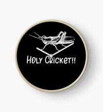 Insect Holy Cricket Wizard Clock