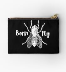Insect Born Fly Funny Bug Gift Studio Pouch