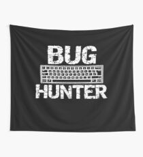 Insect Bug Hunter Hunting Bugs in the Backyard Wall Tapestry