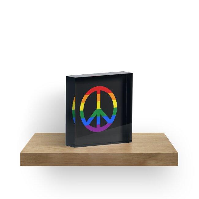 Peace Symbol by 8bitrocket