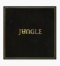Jungle album cover Photographic Print