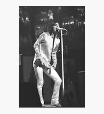 Black Crowes Chris Robinson BW Photo Photographic Print