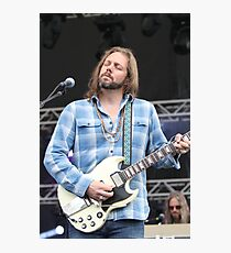 Black Crowes RichRobinson Color Photo Photographic Print