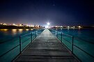 Port Noarlunga Jetty - After Dark by SD Smart