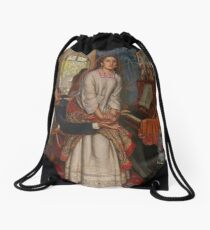 The Awakening Conscience - William Holman Hunt Drawstring Bag