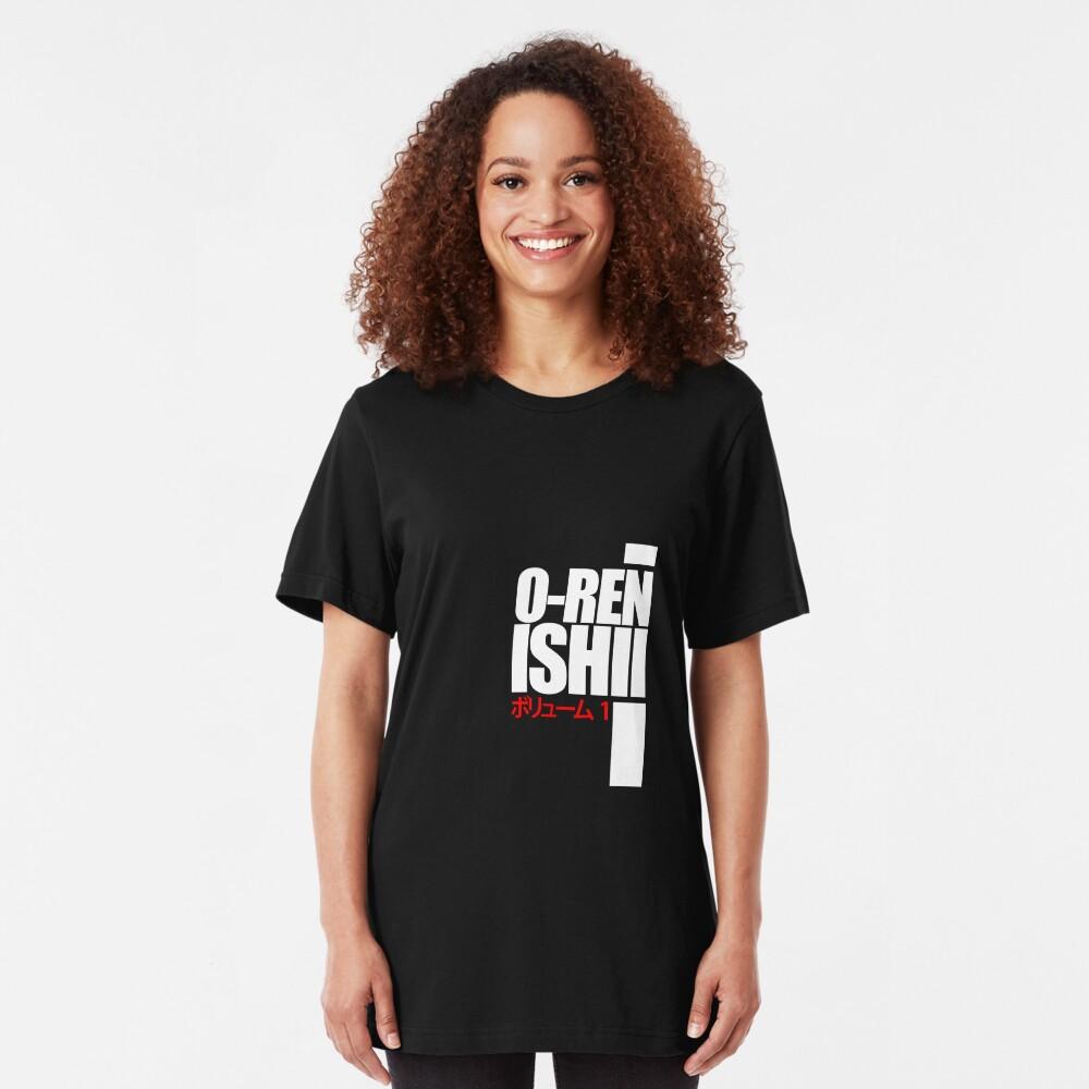 Oren Ishii, Kill Bill (White) Slim Fit T-Shirt