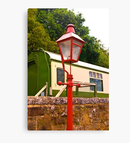 Goathland Station Light Canvas Print