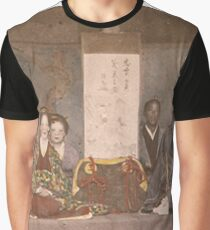 Vintage Japanese group photo Graphic T-Shirt