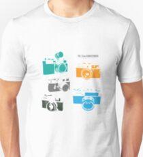 Vintage rangefinder cameras Unisex T-Shirt