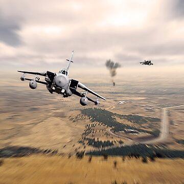 Telic Strike by aviationart