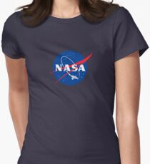 NASA LOGO SERENITY (FIREFLY) Womens Fitted T-Shirt
