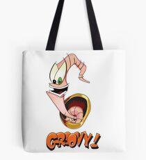 Earthworm Jim, Groovy! Tote Bag