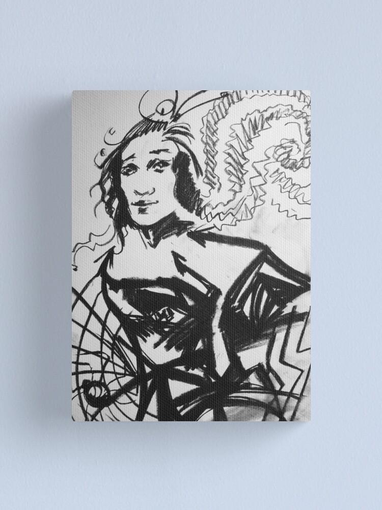 Alternate view of Naivety and Astuteness Canvas Print