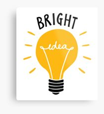 Bright Idea! Metal Print