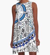 Feelin' Groovy A-Line Dress