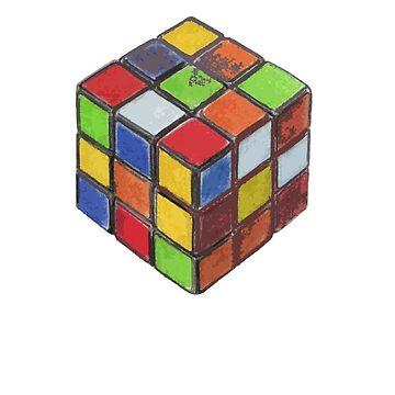 Rubik's Cube by jelliscorpio