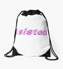 Hallo Schwestern Rucksackbeutel