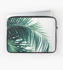 Palm Leaves Green Vibes #6 #tropical #decor #art  Laptop Sleeve