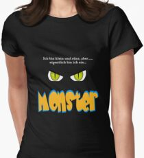 Little cute monster Women's Fitted T-Shirt