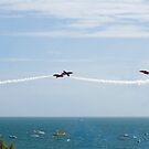 The Red Arrows by bubblebat