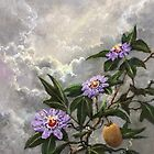 Homage To The Passion Flower by Randy Burns
