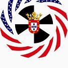 Ceutan American Multinational Patriot Flag Series by Carbon-Fibre Media