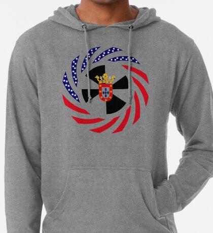 Ceutan American Multinational Patriot Flag Series Lightweight Hoodie